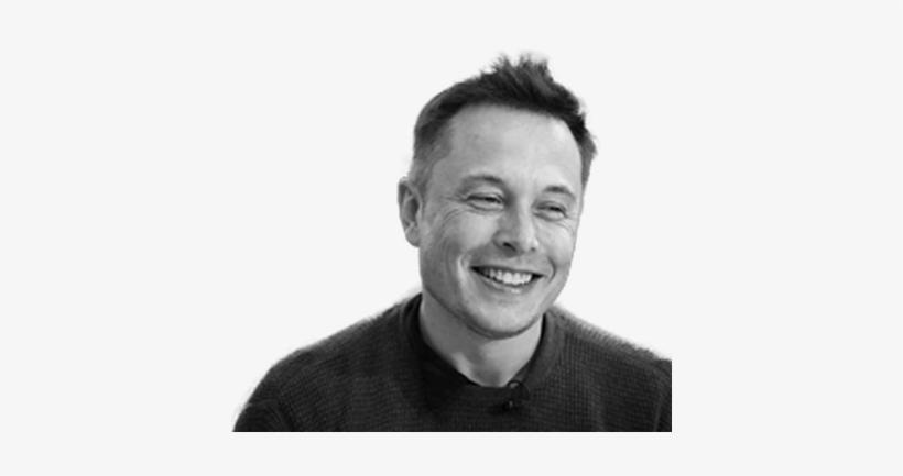 Elon Musk Smiling.