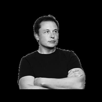 Elon Musk transparent PNG images.