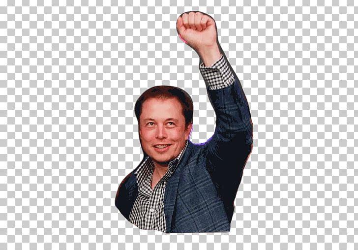 Elon Musk Telegram Sticker Thumb Microphone PNG, Clipart, Arm, Elon.