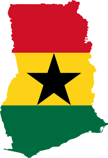 Free photo Africa Country Ghana Map Flag Outline Geography.