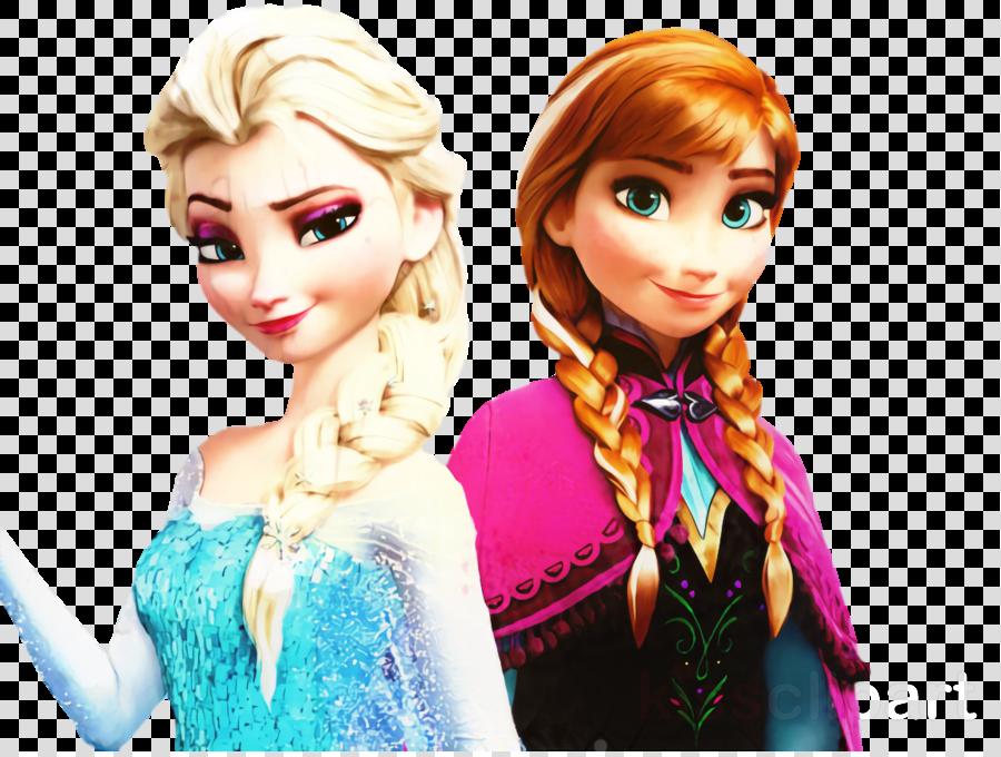 Kristen Bell, Elsa, Anna, transparent png image & clipart free download.