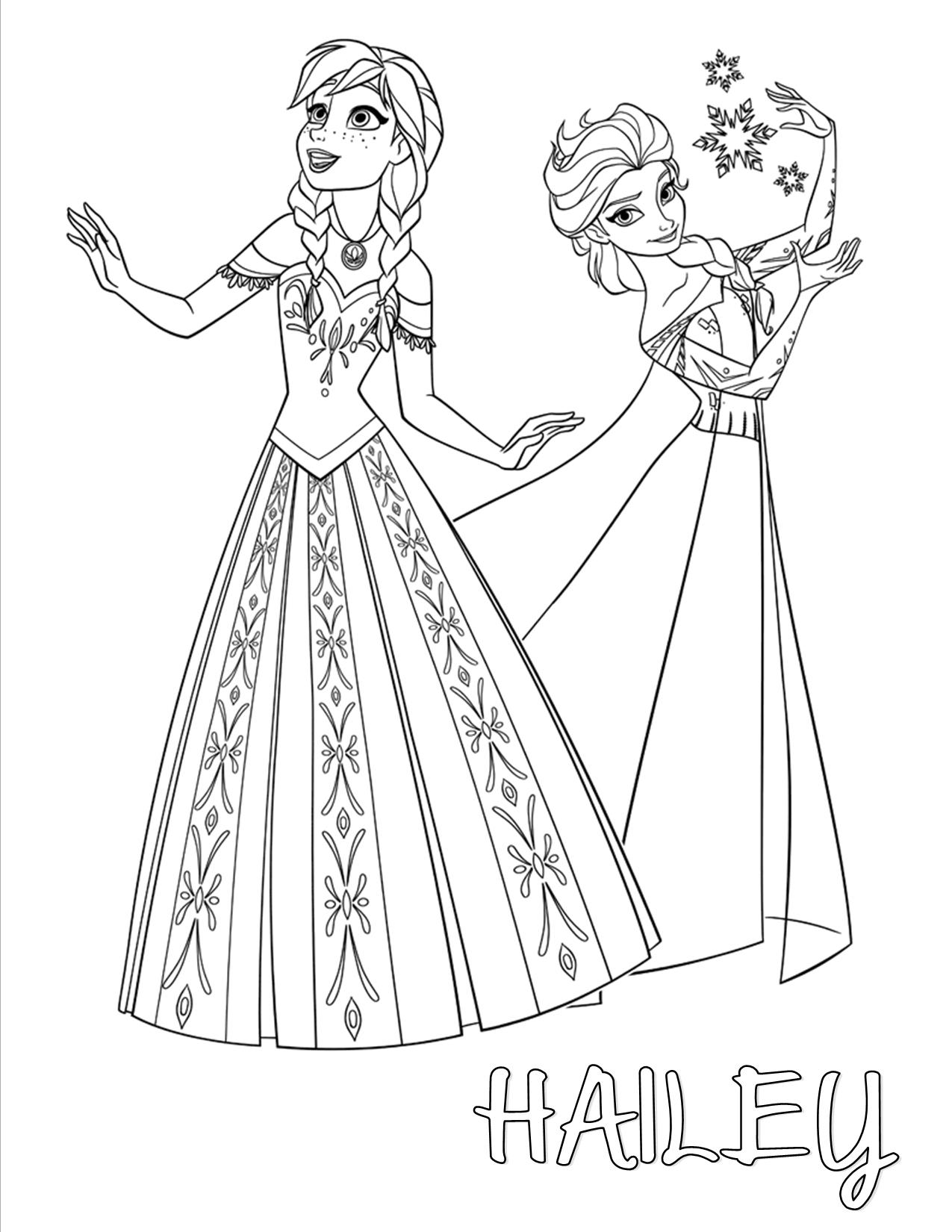 Frozen Clipart Black And White.