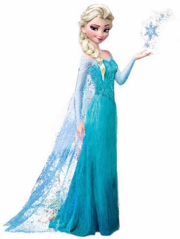DIY Elsa Dress (From Frozen).