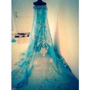 Elsa Clipart Dress.