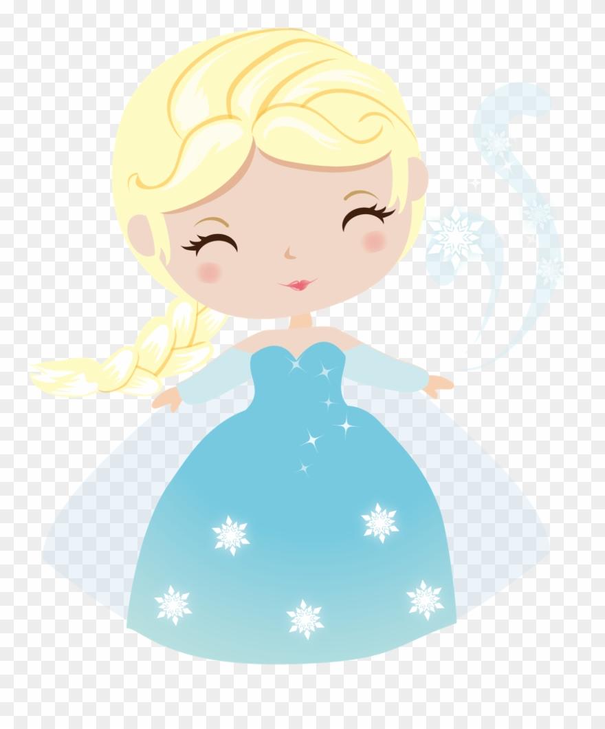 Frozen Fiestas Infantiles Princess, Clip Art.