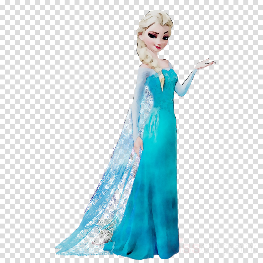 Frozen, Dress, Clothing, transparent png image & clipart free download.