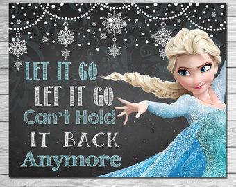 Elsa Frozen Clipart Let It Go.