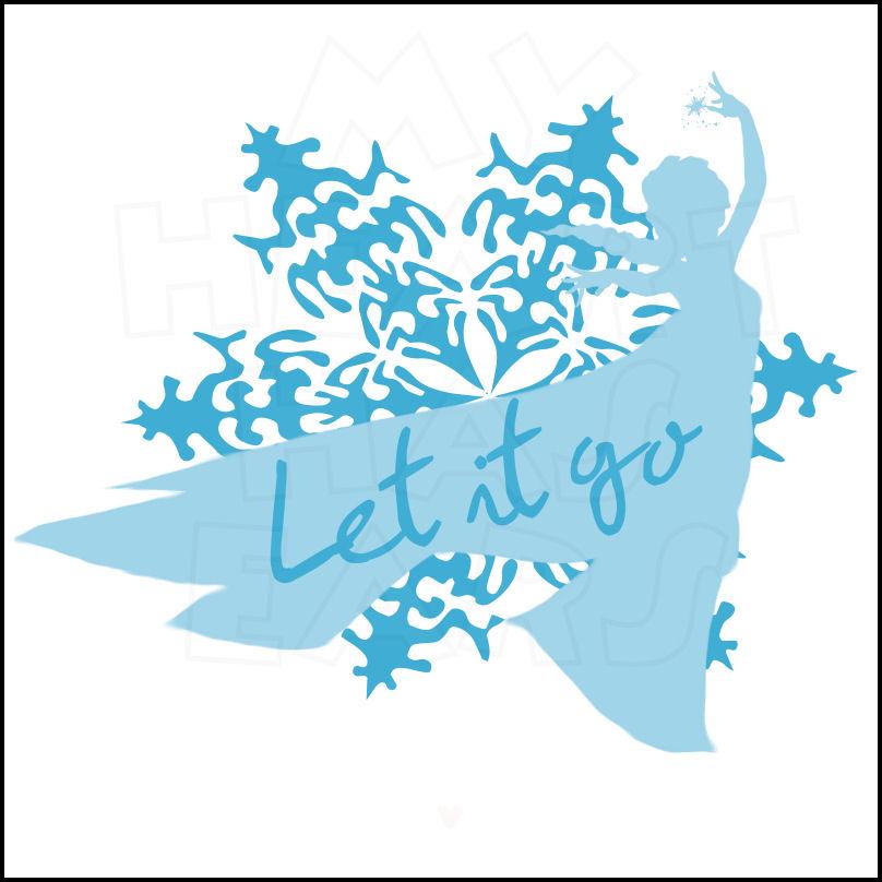 Elsa Let It Go Clipart.