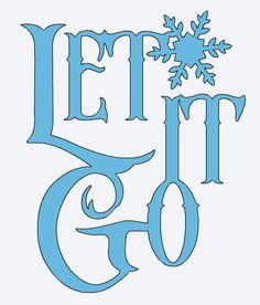 Frozen Let It Go Clipart.