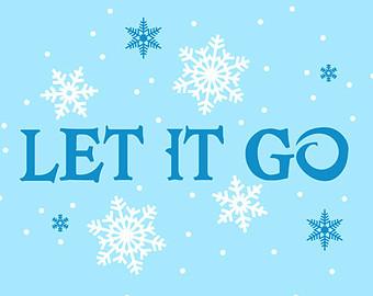 Let It Go Clip Art.