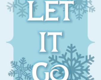 Let it go frozen clipart.