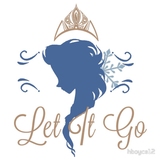 Elsa Silhouette : Let it Go. I'm really really really loving this.