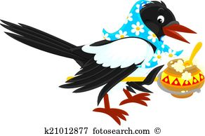 Magpie Clip Art and Illustration. 192 magpie clipart vector EPS.