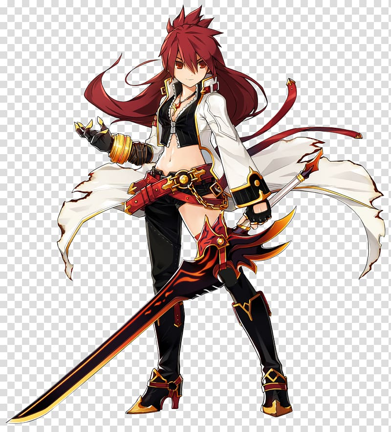 Elsword Elesis Grand Chase Fan art Game, page banner transparent.