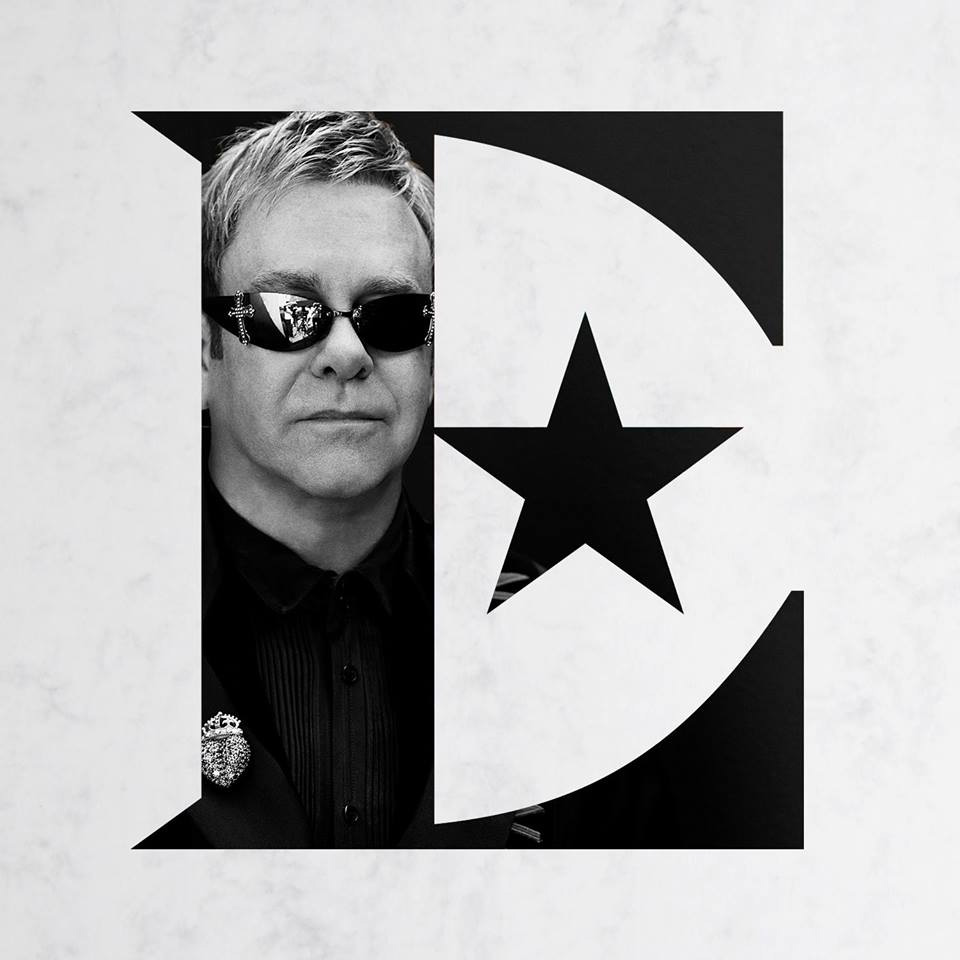 Brand New: New Logo and Identity for Sir Elton John by.