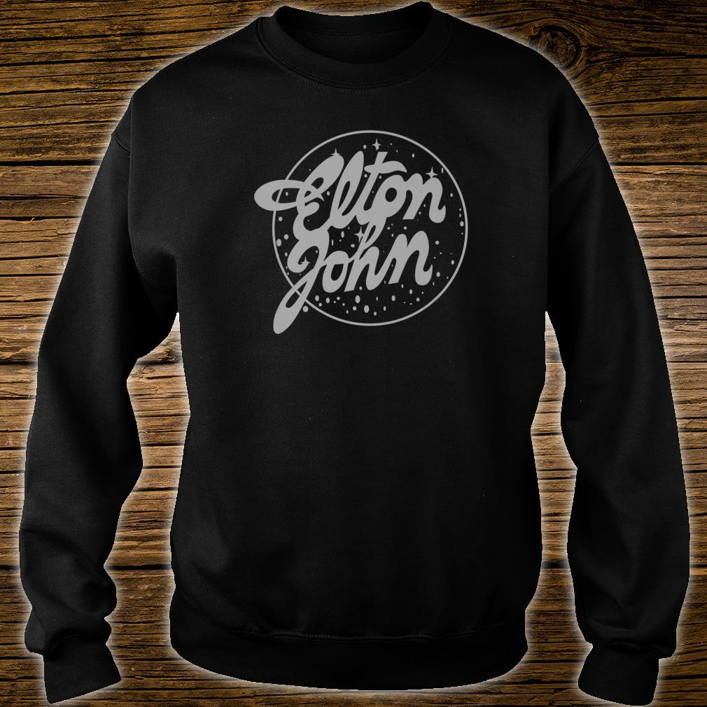 Elton John Official Vintage Tour Logo Shirt.