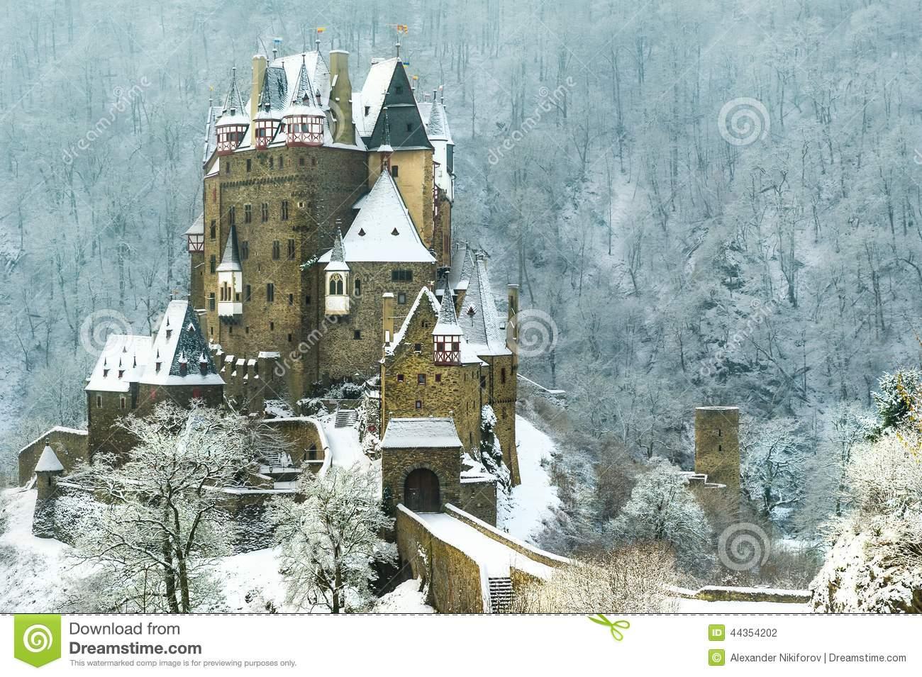 Burg Eltz Stock Photo.