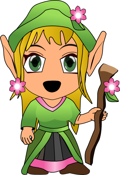 Free to Use & Public Domain Elf Clip Art.