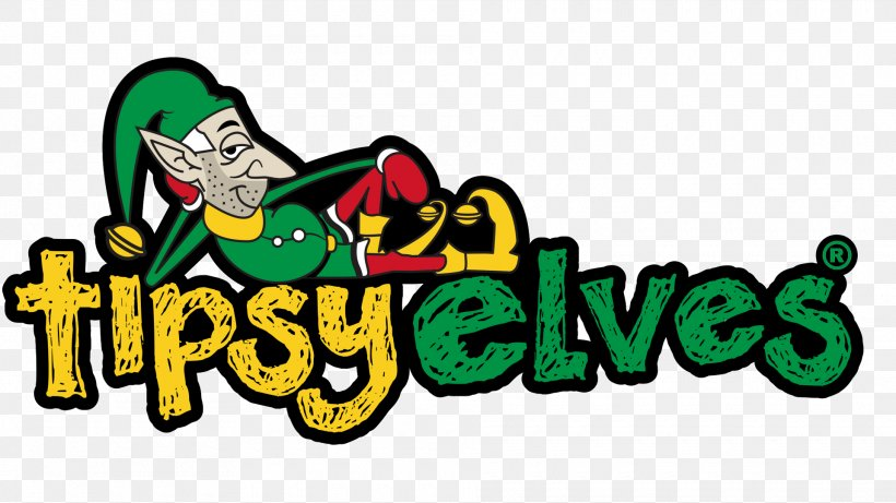 Logo Tipsy Elves Christmas Jumper Christmas Day Graphic.