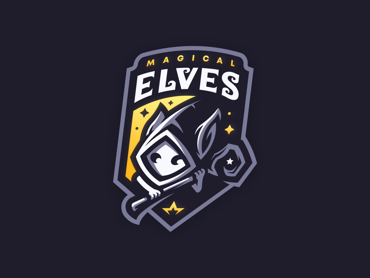 Magical Elves, a logo design for a gaming team. : logodesign.