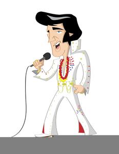 Elvis Caricature Clipart.