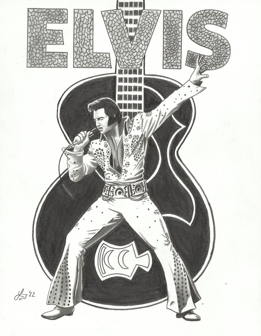 Elvis clipart caricature, Elvis caricature Transparent FREE.