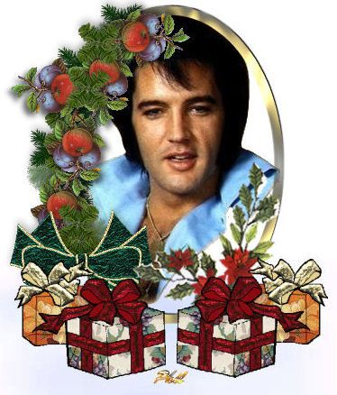 A Christmas with Elvis~.