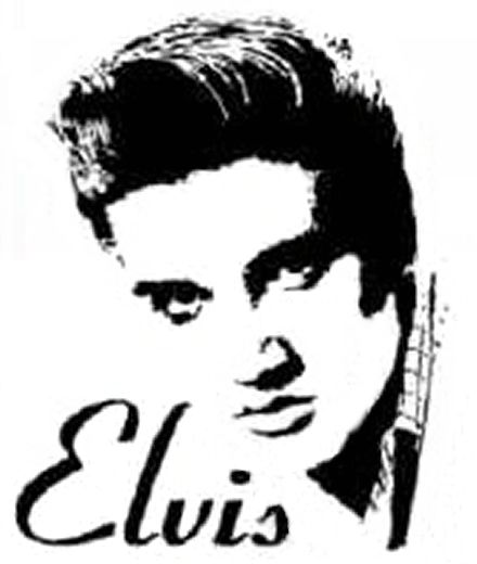 Free Elvis Clipart Black And White, Download Free Clip Art.