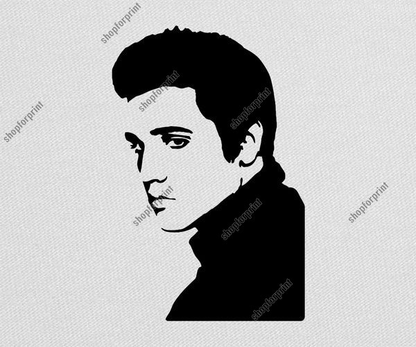 Elvis Vector Clipart Free.