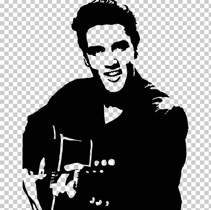 Elvis Presley Stencil Singer PNG, Clipart, Animals, Art.