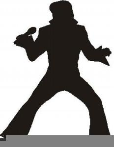 Elvis Hair Clipart.