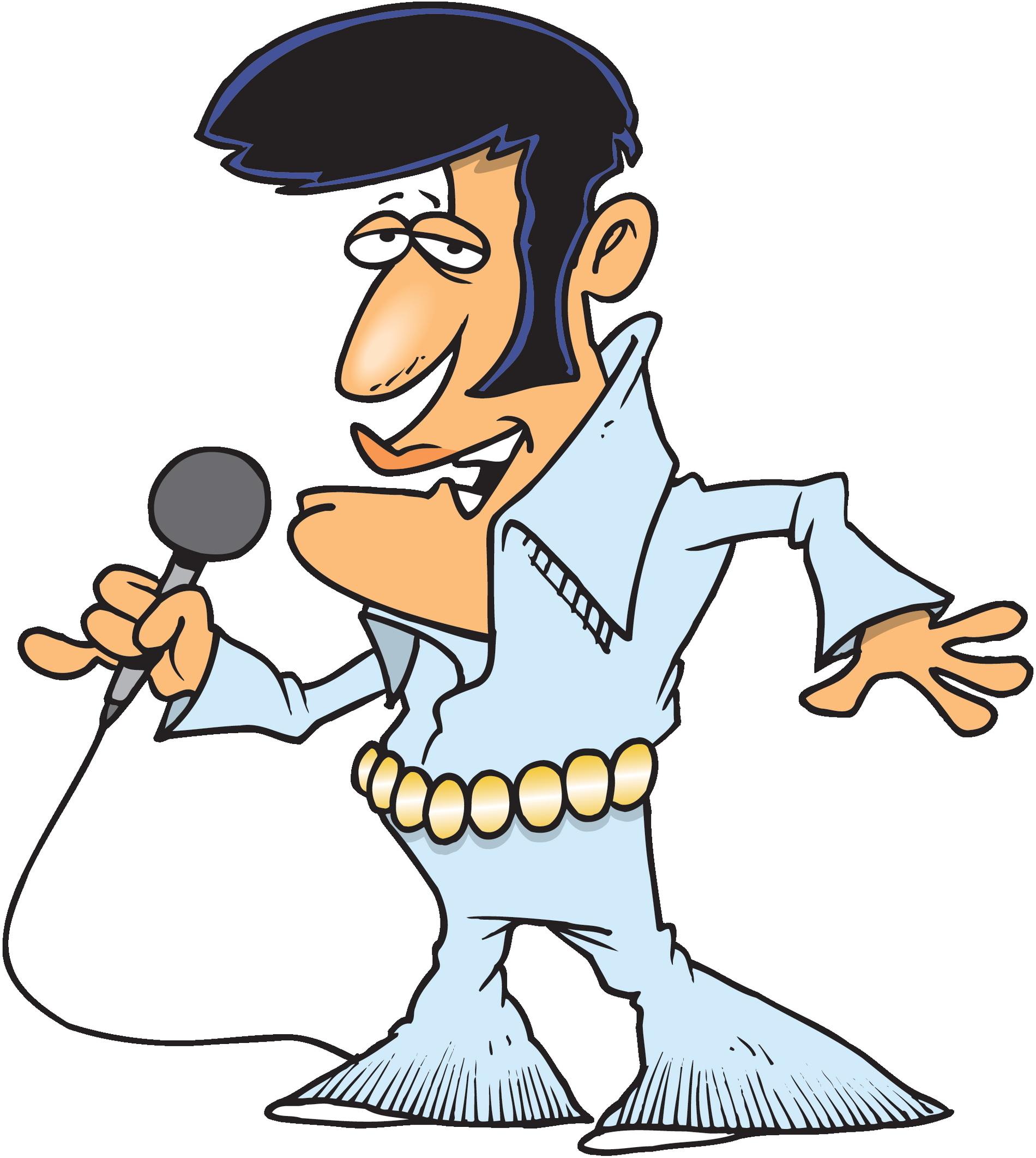 Elvis Presley Clip Art.