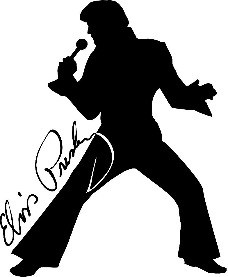1000+ images about Elvis Silhouettes on Pinterest.