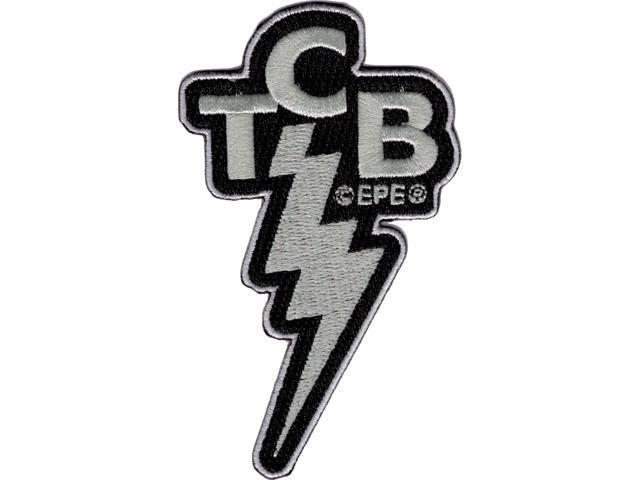 Elvis Presley TCB Logo Cut.