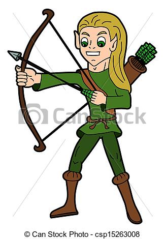 Vector Clipart of Fantasy cartoon.