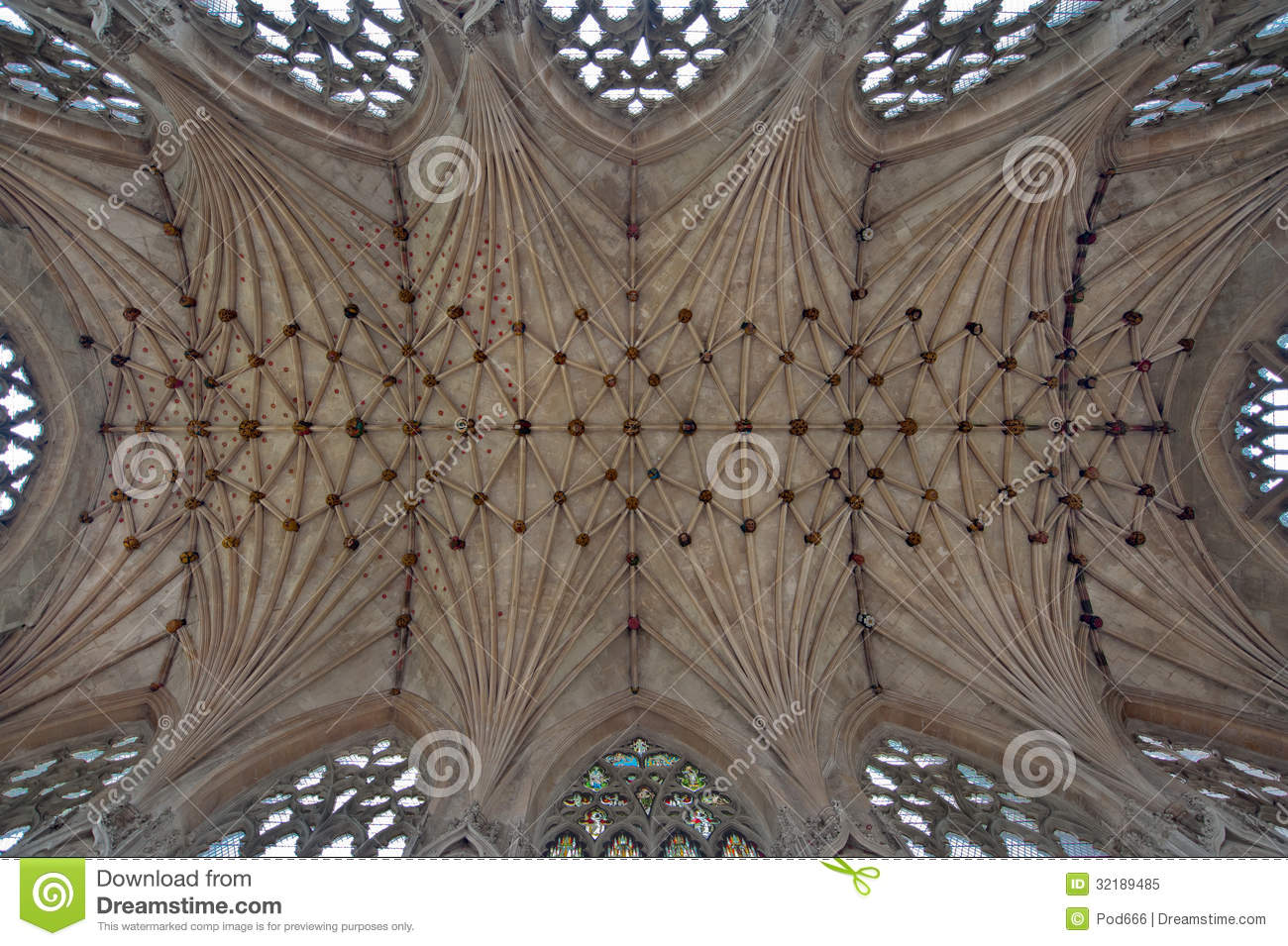 Ely Cathedral Lady Chapel Royalty Free Stock Photo.