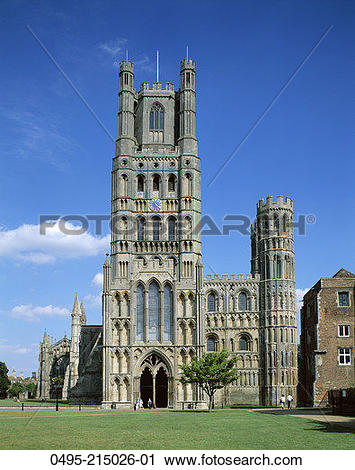 Stock Photography of England, Ely Cathedral 0495.