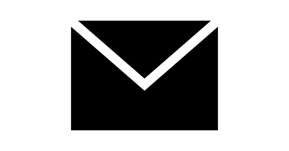 Mail black back envelope.