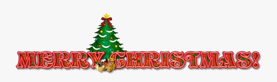 Merry Christmas Email Signature Banner , Free Transparent.