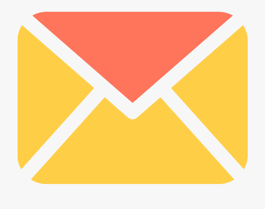 Email Clipart Yellow Envelope.
