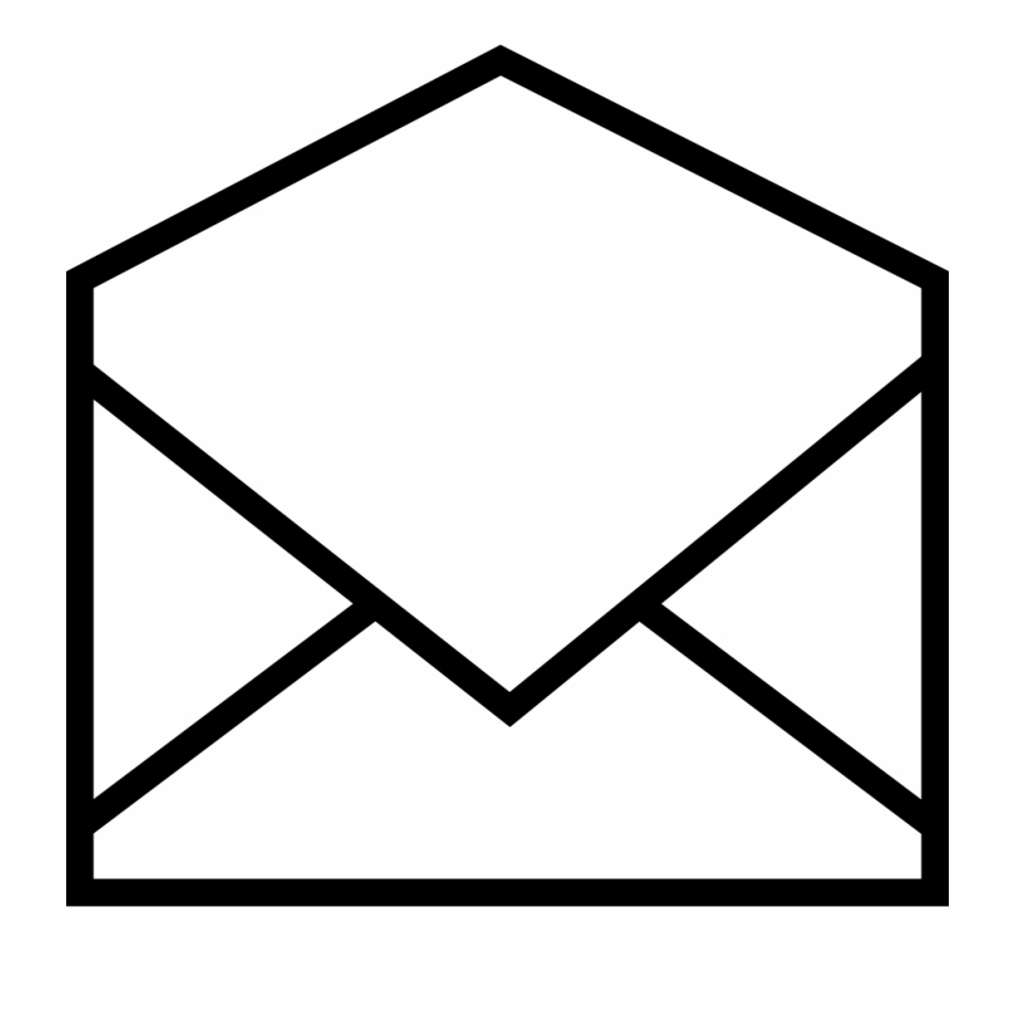 Open An Envelope Comments Email Logo Transparent Background.