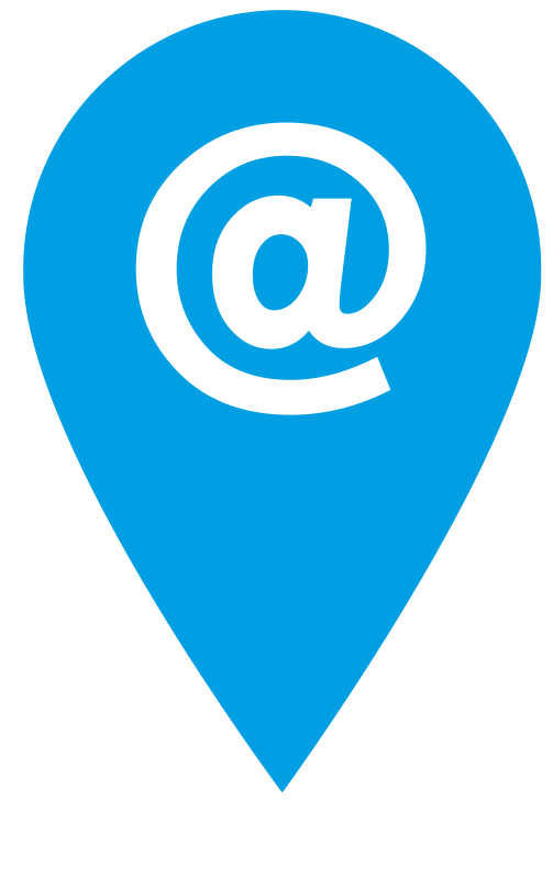 Free Clipart: Blue Email Icon.