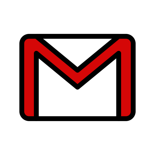 Communication, email, gmail, mail, message, service icon.