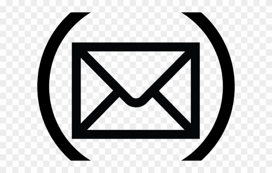 Email Icons Transparent Background.