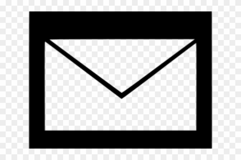 Email Icons Transparent White.