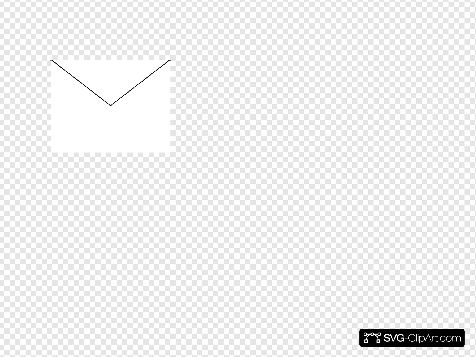 Email Icon White Clip art, Icon and SVG.