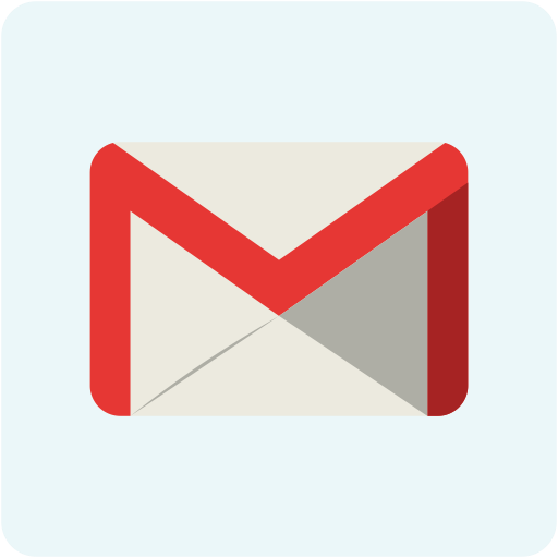 Address book, contacts, email, gmail, mail icon.