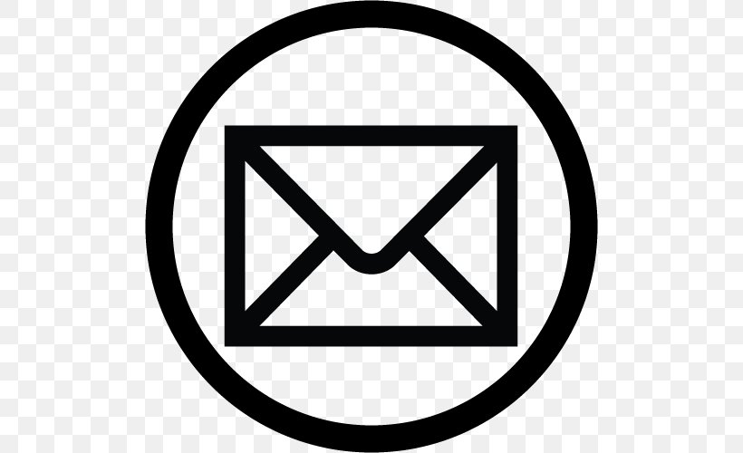 Email Logo Icon, PNG, 500x500px, Email, Area, Black And.