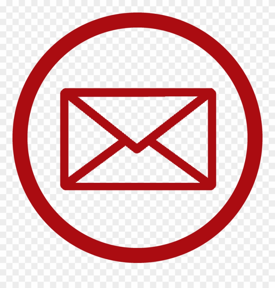 Email Logo Round Png Clipart (#3252894).