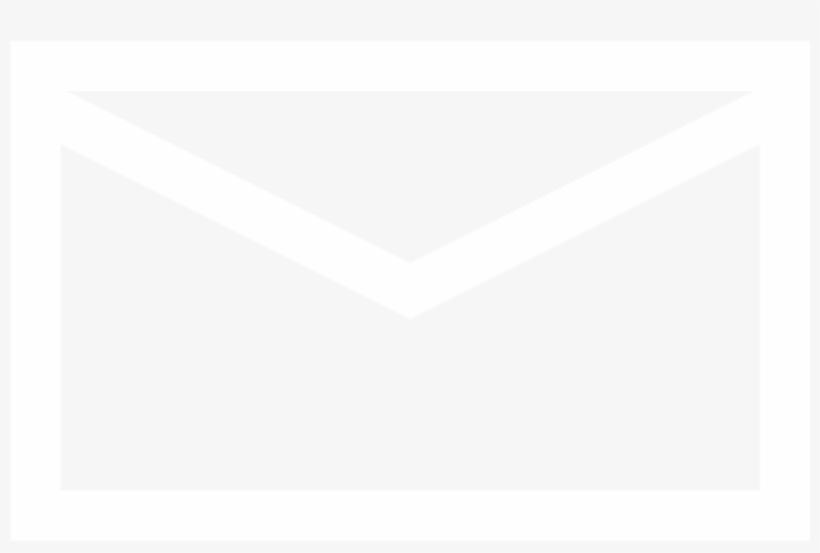 White Email Logo Transparent Background Transparent PNG.